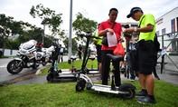 Clip Singapore phạt nặng với phương tiện chạy điện cá nhân