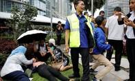 Clip hơn 70 người bị thương khi Sở giao dịch chứng khoán đổ sụp