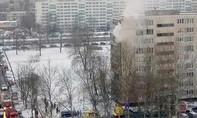Người mẹ ôm con nhảy từ tầng 8 chung cư đang cháy vẫn sống