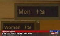 Phát hiện bé sơ sinh trong nhà vệ sinh sân bay ở Mỹ