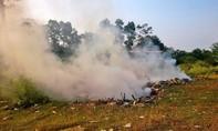 Hy hữu: Một người ngạt khói tử vong khi đốt rác