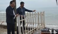 Đà Nẵng: Bờ biển Mỹ Khê sạt lở nghiêm trọng