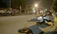Va chạm liên hoàn 3 xe máy, 2 người nhập viện