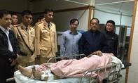 Công an Thừa Thiên - Huế thăm hỏi  6 nạn nhân bị ôtô lao vào
