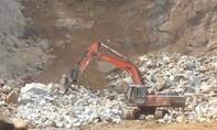 Nổ mìn khai thác đá, 2 người chết, 2 người bị thương