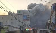 Cháy bệnh viện ở Hàn Quốc, ít nhất 33 người chết