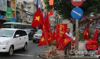 """Sài Gòn """"nóng hừng hực""""  trước trận chung kết lịch sử"""