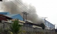 Cháy lớn trong KCN Mỹ Phước 1 ở Bình Dương