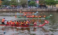 TP.HCM: Đua thuyền trên kênh Nhiêu Lộc - Thị Nghè