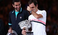 Federer giành chức vô địch Úc Mở rộng