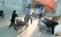 Tạm giữ nhân viên giữ xe đánh gãy sống mũi nhà thơ
