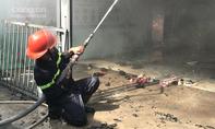 Hiện trường hoang tàn vụ cháy trường mầm non và 3 nhà dân