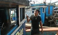 Tàu cá Quảng Nam bị tàu chưa xác định đâm ở vùng biển Hoàng Sa