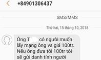 Cán bộ Văn phòng ĐBQH nhiều tỉnh bị nhắn tin tống tiền