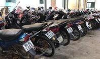 Phá băng trộm và tiêu thụ tài sản, thu giữ gần 60 xe máy