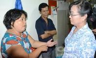 Bà Nguyễn Thị Quyết Tâm thăm người dân Thủ Thiêm