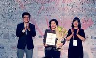 """Forbes Việt Nam vinh danh giải thưởng """"Thành tựu trọn đời"""""""