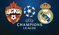 CSKA Moskva – Real Madrid: Bài kiểm tra cho Kền kền trắng