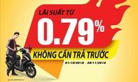 HD SAISON cho vay 100% giá trị xe máy Honda