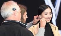 Hoa hậu Tiểu Vy tích cực chuẩn bị cho buổi xuất hiện ra mắt VinFast