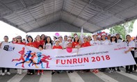 Hơn 11.000 tình nguyện viên chạy bộ gây quỹ từ thiện