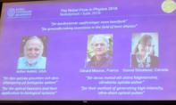 55 năm mới có một nữ bác học đoạt giải Nobel vật lý