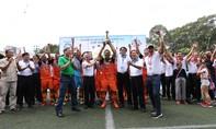 Hội Doanh nghiệp Thủ Đức vô địch cúp Tona 2018
