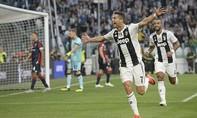Ronaldo lập công, Juventus thống trị ngôi đầu
