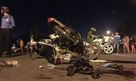 Ba xe máy dính chùm trong đêm tại KCN Tam Phước