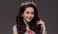 Hoa hậu Phan Thị Mơ yêu kiều với áo dài ren cách điệu
