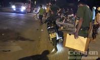 Ô tô cán chết người rồi bỏ chạy ở Sài Gòn