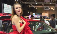 Chiêm ngưỡng dàn người mẫu tại triển lãm ô tô lớn nhất Việt  Nam 2018