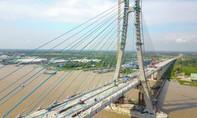 Nhà thầu Hàn Quốc 'chây ì' sửa chữa vết nứt cầu Vàm Cống