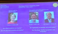 Nobel Hoá học trao cho 3 nhà khoa học nghiên cứu enzyme và kháng thể