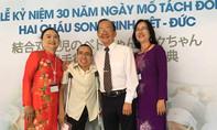 Cặp song sinh Việt - Đức 30 năm sau tách rời