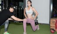 Hoa hậu Tiểu Vy tích cực tập luyện cho cuộc thi Miss World 2018