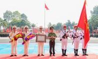 Đại học ANND đón nhận Huân chương Bảo vệ Tổ quốc hạng Nhất