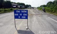 Đường gần 4.000 tỷ đồng nát như tương: Sửa chữa theo kiểu... đường làng