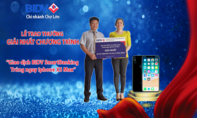 """Giao dịch BIDV Smartbanking - Trúng ngay Iphone XS Max"""