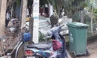 Vụ dây điện đứt rơi xuống làm một người chết: Do lá dừa?