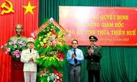Phó Tư lệnh CSCĐ làm Giám đốc Công an Thừa Thiên – Huế