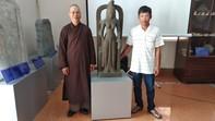Tượng nữ thần cổ trị giá 7,5 tỷ đồng vớt trên sông lần đầu thấy ở Việt Nam