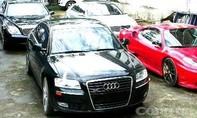 Sau khi duyệt nhập trái phép 3 siêu xe, tài khoản nhận 460 triệu đồng