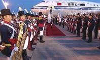 Quân nhạc Argentina nhầm một quan chức Trung Quốc là ông Tập Cận Bình