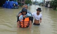 Hơn 1.800 hộ dân vùng ngập nước tại Quảng Nam được khẩn cấp sơ tán