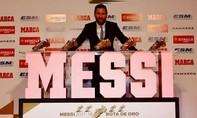 Messi vượt qua hàng loạt tên tuổi để đoạt chiếc giày vàng thứ 5