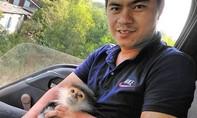 Bắt được một cá thể voọc trên cao tốc Đà Nẵng - Quảng Ngãi