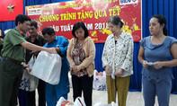 Báo Công an TP.HCM trao quà Tết cho người nghèo quận Gò Vấp