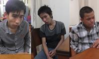 Ba tên trộm xe tay ga sa lưới ngày giáp Tết