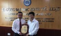 Ban biên tập Báo Công an TP.HCM thăm, chúc Tết  PGS.TS Nguyễn Ngọc Điện
